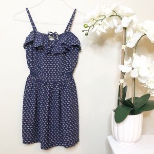 Cooperative | Ruffle Floral Dress UO Small